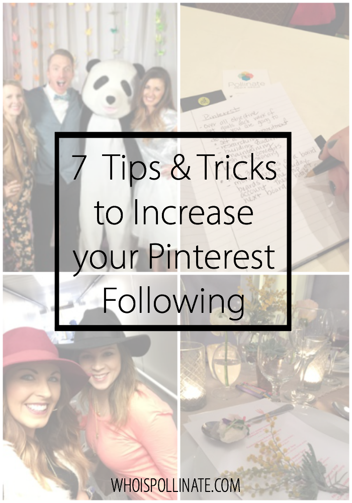 7 Tips and Tricks to Increase your Pinterest Following 1