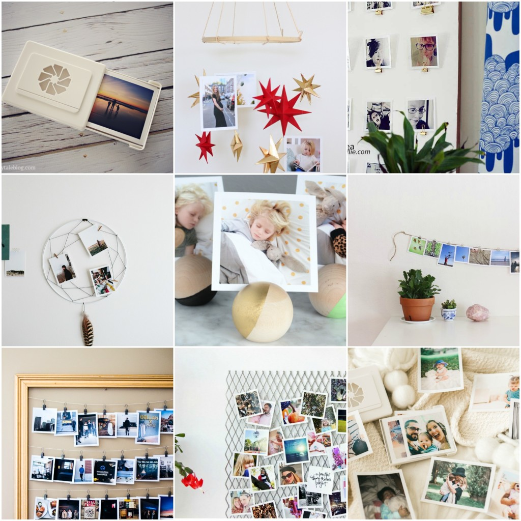 9 ways to display timeshel prints