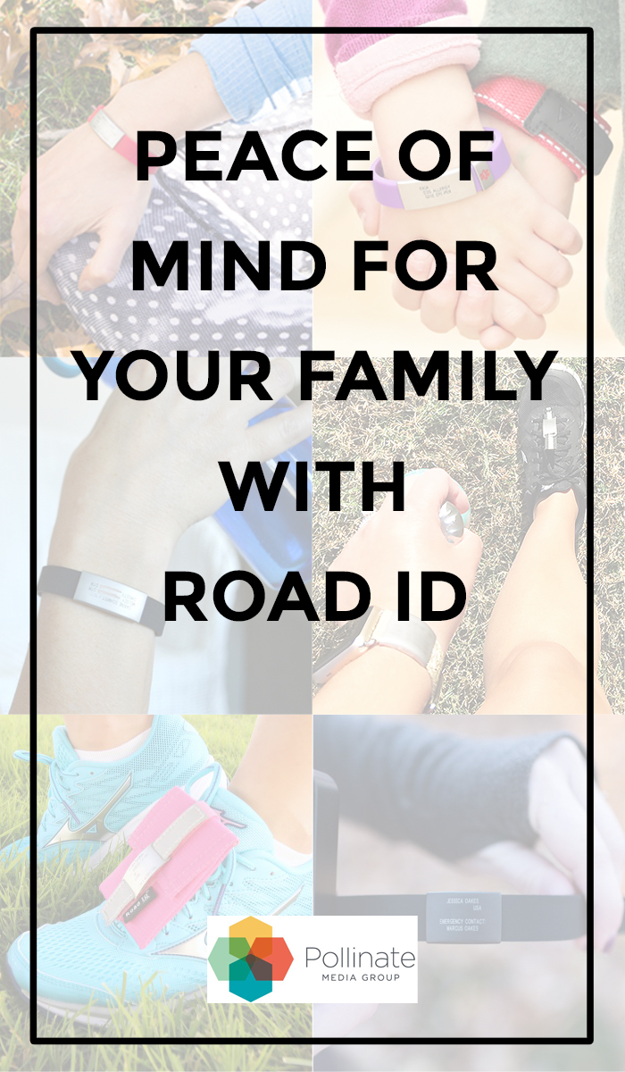 Peace of Mind with Road ID! Keep your family safe when outdoors, exercising, traveling, and just living every day life with Road ID #RoadIDItsWhoIAm #RoadID #pMedia #ad