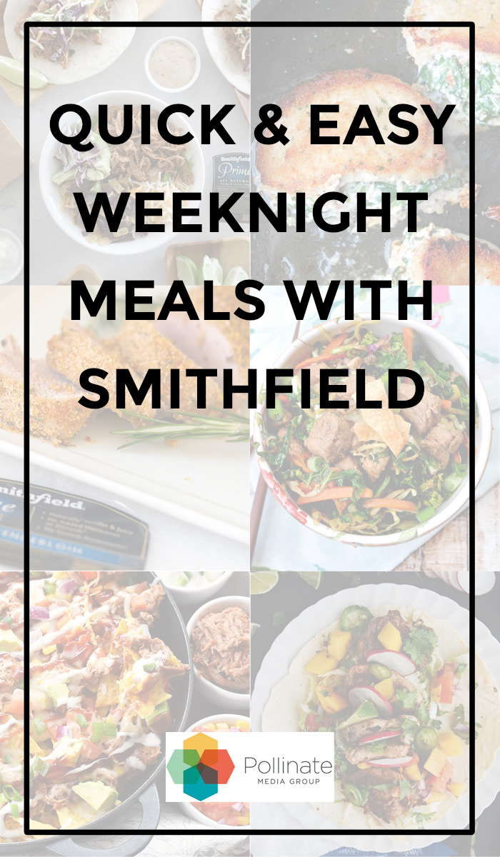 EASY DINNERS DINNER FOR TWO SMITHFIELD PORK PORK RECIPES #SEASONOFPORK #PMEDIA #AD