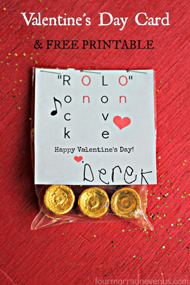 rolo valentines day card free printable