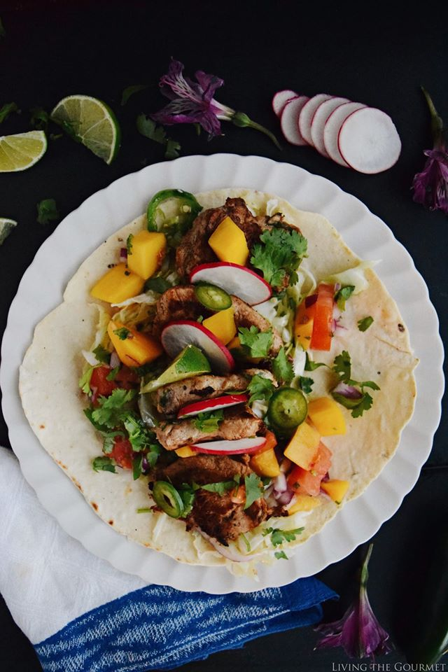 spicy pork tacos with fresh mango salsa smithfield prime fresh pork living the gourmet