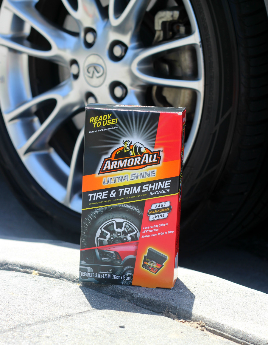 Armor All Ultra Shine Wash Wipes, Armor All Ultra Shine Wax Wipes, and Armor All Ultra Shine Tire & Trim Shine Sponges #LessTimeMoreShine #ad #pMedia