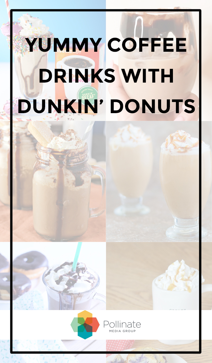 Yummy Coffee Drinks with Publix Dunkin Donuts #DunkinDonutsPublix