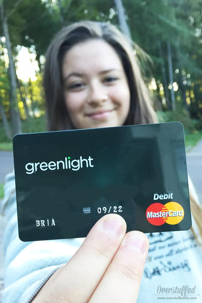 Greenlight, the Smart Debit Card for Kids #ad #pMedia #GreenPMG
