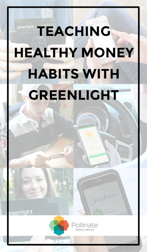 Teaching healthy money habits with Greenlight, the smart debit card for kids #GreenPMG #pMedia #ad