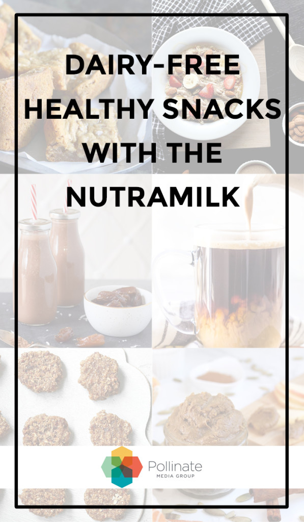 Alternative nut butters and nut milks made easy with The NutraMilk #ad #pMedia #TheNutramilk